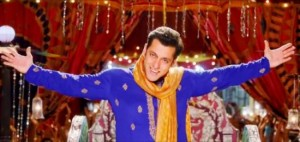 Salman Khan in Blue Kurta Dhoti New Look for Prem Ratan Dhan Payo Hindi Movie 2015