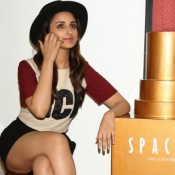 Parineeti Chopra Hot in Black Shorts Pics at Amazon India Fashion Week 2015