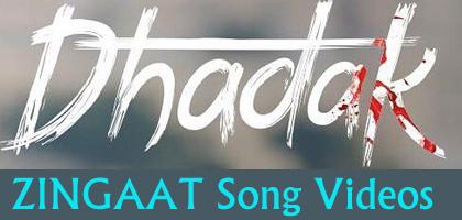 """ZINGAAT SONG"" Dhadak Movie Video Song 2018 with Lyrics"