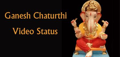 Download Ganesh Chaturthi Video Status 2018 – Ganpati Status Video Song