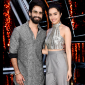 Shraddha Kapoor & Shahid Kapoor celebrated Ganesh Chaturthi on Set of Indian Idol 10